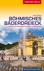Reisgids Böhmisches Bäderdreieck - Rund um Franzensbad, Karlsbad und Marienbad   Trescher Verlag   ISBN 9783897944701