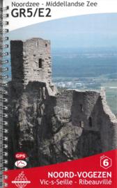 Wandelgids GR5 : Elzas - van Vic-sur-Seille naar Ribeauvillé   De Wandelende Cartograaf   ISBN 9789083086934