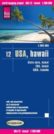 Wegenkaart Hawaii - Hawaiiaanse eilanden | Reise Know How | 1:200.000 | ISBN 9783831773824