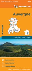 Wegenkaart Auvergne -Limousin 2020 | Michelin 17522  | 1:200.000 | ISBN 9782067243859