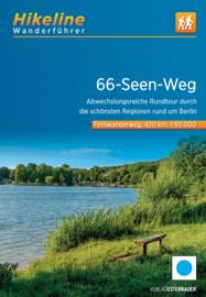 Wandelgids 66-seen-weg | Hikeline | ISBN 9783850009621