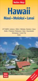 Wegenkaart Maui - Molokai - Lanai | Hawaii  | Nelles maps | ISBN 9783865745477