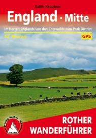 Wandelgids Engeland Midden - England Mitte | Rother Verlag | ISBN 9783763344499
