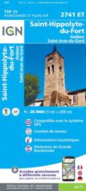 Wandelkaart St.-Hyppolyte-du-Fort, Lasalle, Sumene, Ganges, Sauve, St.-Jean-du-Gard | Cevennen | IGN 2741ET - IGN 2741 ET | ISBN 9782758543114