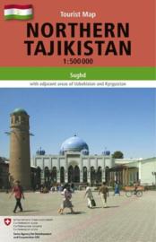 Wegenkaart Northern Tajikistan - Noord Tadzjikistan | Gecko Maps | ISBN 9783906593456