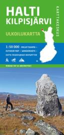 Wandelkaart  Halti-Kilpisjarvi NP   Karttakeskus  - Genimap   1:50.000   ISBN 9789522664112