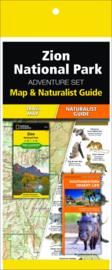 Natuurgids - Topografische kaart - Wandelkaart Zion National Park | National Geographic Adventure Set  | ISBN 9781583559204