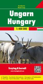 Wegenkaart Hongarije | Freytag & Berndt | 1:400.000 | ISBN 9783707901856