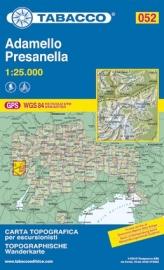 Wandelkaart Adamello - Presanella | Tabacco 52 | ISBN 9788883150876