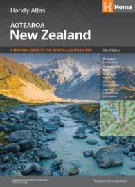 Wegenatlas Nieuw Zeeland - New Zealand handy atlas | Hema Maps | 1:434.000 | ISBN 9781925625042