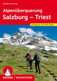 Wandelgids Salzburg naar Triest | Rother Verlag | ISBN 9783763344949