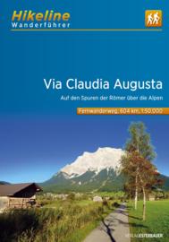 Wandelgids - Trekkinggids Via Claudia Augusta | Hikeline | | ISBN 9783850007191
