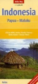 Wegenkaart Iran Jaya / Papua Nieuw Guinea / Makalu | Nelles Maps | 1:1,5 miljoen | ISBN 9783865740458