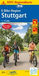 Fietskaart Stuttgart E bike region | BVA - ADFC | 1:75.000 | ISBN 9783870739713