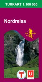 Wandelkaart Nordreisa 2717 | Nordeca | 1:100.000 | ISBN 7046660027172