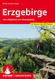 Wandelgids Rother Erzgebirge  | Rother Verlag | ISBN 9783763345175