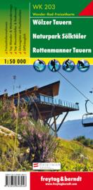 Wandelkaart Wölzer Tauern - Naturpark Sölktäler - Rottenmanner Tauern | Freytag & Berndt 203 | 1:50.000 | ISBN 9783850848046