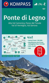 Wandelkaart Ponte di Legno | Kompass 107 | 1:50.000 | ISBN 9783990443859
