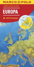 Wegenkaart - landkaart Europa   Marco Polo   ISBN 9783829738262