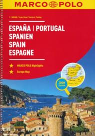 Wegenatlas Spanje en Portugal | Mair Dumont | 1:300.000 | ISBN 9783829736893