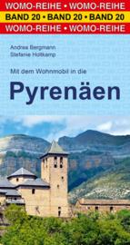 Campergids Mit dem Wohnmobil durch die Pyrenäen | WOMO 20 | Pyreneeën | ISBN 9783869032061