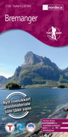 Wandelkaart Bremanger 2729 | Nordeca | 1:50.000 | ISBN 7046660027295
