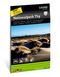 Wandelkaart Nationalpark Thy | Calazo Outdoormaps Serie - Calazo Förlag Dänemark | 1:25.000 | ISBN 9789188779755