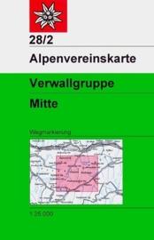 Wandelkaart  Verwallgruppe 28/2 Mittleres Blatt | OAV | ISBN 9783928777360