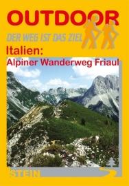 Wandelgids-Trekkinggids Alpiner wanderweg : Friaul | Conrad Stein Verlag | ISBN 9783893925407