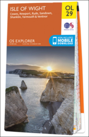 Wandelkaart Isle of Wight | Ordnance Survey Explorer 29 | 1:25.000 | ISBN 9780319263631