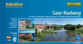 Fietsgids Bikeline Saar Radweg - 190 km.   Verlag Esterbauer   ISBN 9783850008105