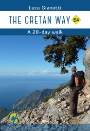 Wandelgids Kreta - The Cretan Way E4 | Anavasi | ISBN 9789609412452