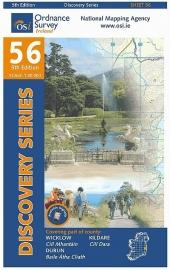Wandelkaart Ordnance Survey / Discovery series | Wicklow / Dublin / Kildare 56 | ISBN 9781908852342