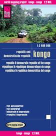 Wegenkaart Congo - Kongo | Reise Know How | 1:2 miljoen | ISBN 9783831771912