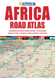 Wegenatlas Road Atlas Afrika - Africa | MapStudio | ISBN 9781776170289