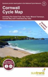 Fietskaart Cornwall Cycle Map | Cycle City Guide nr. 01 || 1:110.000 | ISBN 9781910845509