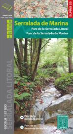 Wandelkaart Serralada de Marina    Editorial Alpina   1:25.000   ISBN 9788480905183