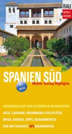 Campergids Spanje Zuid - Mit dem Wohnmobil nach Süd Spanien | Werner Rau Verlag | ISBN 9783926145697