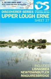 Wandelkaart Upper Lough Erne | Discovery Northern Ireland 27 - Ordnance survey | 1:50.000 | ISBN 9781911643012