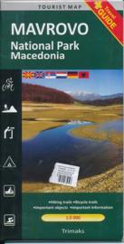 Wandelkaart Mavrovo - National Park Macedonie | Trimaks | 1:50.000 | ISBN 9786082041254