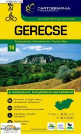 Wandelkaart Gerecse | Cartographia krt. 10 | 1:40.000 | ISBN 9789633531105