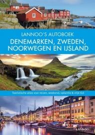 Reisgids Lannoo's autoboek Denemarken, Zweden, Noorwegen en IJsland | Lannoo | ISBN 9789401432337