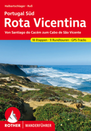 Wandelgids Rota Vicentina | Rother Verlag | ISBN 9783763345489
