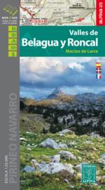 Wandelkaart Valles de Belagua y Roncal | 1:25.000 | ISBN 9788480906678