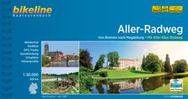 Fietsgids Aller Radweg - 349 km | Bikeline | ISBN 9783850008303