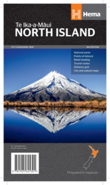 Wegenkaart Nieuw Zeeland Noordereiland | HEMA Maps | 1:1 miljoen | ISBN 9781925625301