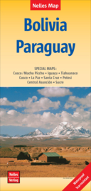 Wegenkaart Bolivia - Paraguay | Nelles maps | 1:2,5 miljoen | ISBN 9783865740885