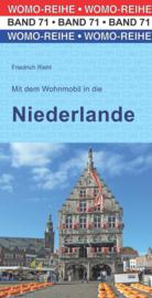 Campergids Mit dem Wohnmobil in die Niederlande | WOMO verlag 71 | ISBN 9783869037134