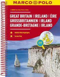Wegenatlas Groot Brittannie & Ierland 2019 | Marco Polo | ISBN 9783829736923