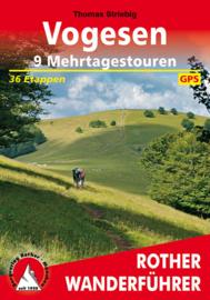 Wandelgids Vogezen - meerdaagse tochten | Rother Verlag | ISBN 9783763344963